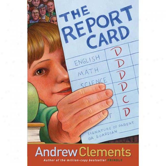 what is the genre of the book the report card