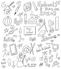 school-doodle-back-to-school-background-texture-35236672